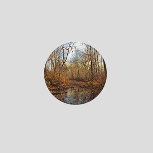 Autumn Nature Trail Mini Button