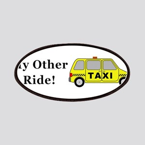 Minivan Taxi My Other Ride Patch