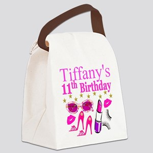 PERSONALIZED 11TH Canvas Lunch Bag