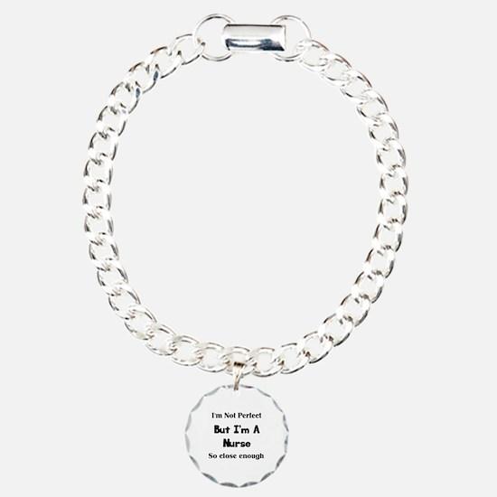 Perfect Nurse Charm Bracelet, One Charm