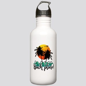 Beach Please Funny Sum Stainless Water Bottle 1.0L
