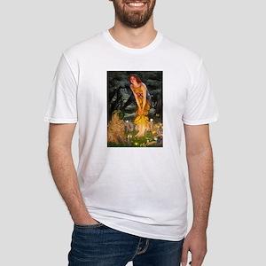 Fairies / Shar Pei Fitted T-Shirt