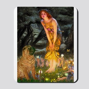 Fairies / Shar Pei Mousepad