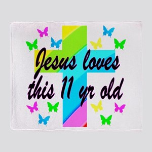 CHRISTIAN 11TH Throw Blanket