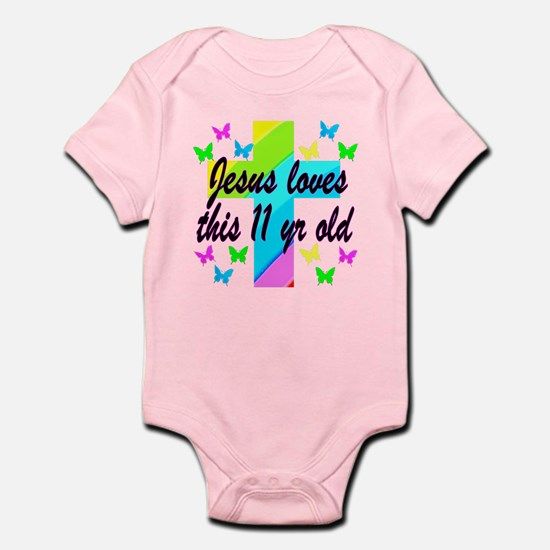 CHRISTIAN 11TH Infant Bodysuit