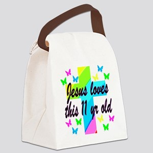 CHRISTIAN 11TH Canvas Lunch Bag
