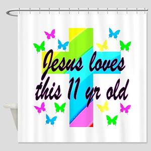 CHRISTIAN 11TH Shower Curtain