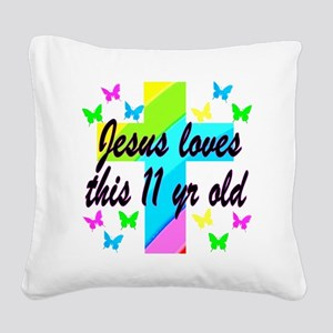 CHRISTIAN 11TH Square Canvas Pillow