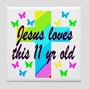 CHRISTIAN 11TH Tile Coaster
