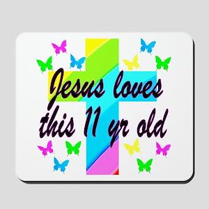 CHRISTIAN 11TH Mousepad