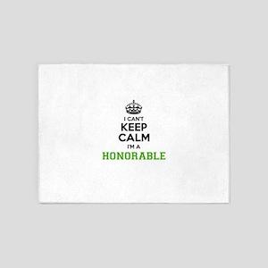 Honorable I cant keeep calm 5'x7'Area Rug