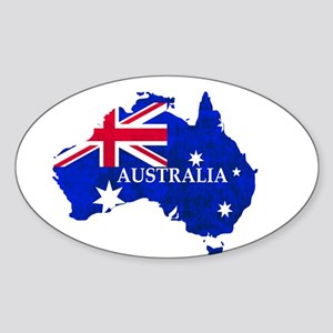 Australia flag Australian Country Sticker