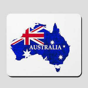Australia flag Australian Country Mousepad