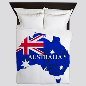 Australia flag Australian Country Queen Duvet
