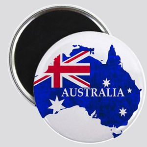 Australia flag Australian Country Magnets