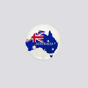 Australia flag Australian Country Mini Button