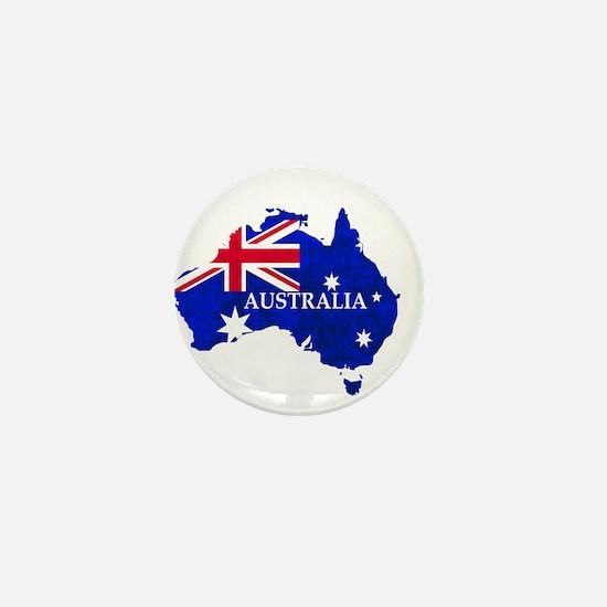 Australia flag Australian Country Mini Button