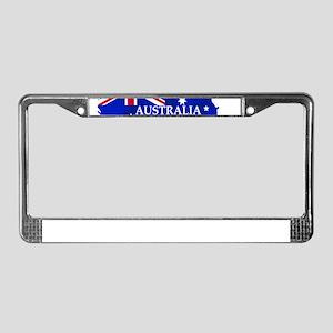 Australia flag Australian Coun License Plate Frame