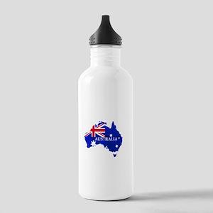 Australia flag Austral Stainless Water Bottle 1.0L