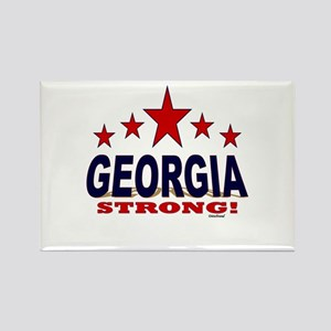 Georgia Strong! Rectangle Magnet