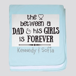 The love between a dad and his girls personalized
