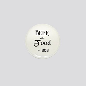 Beer is Food Personalized Mini Button