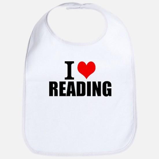 I Love Reading Baby Bib