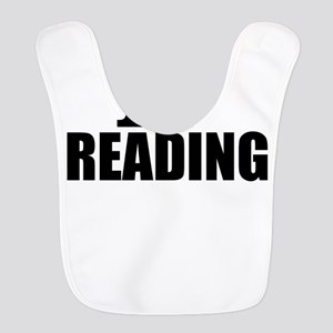 I Love Reading Polyester Baby Bib