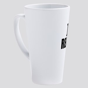 I Love Reading 17 oz Latte Mug
