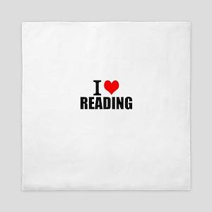 I Love Reading Queen Duvet
