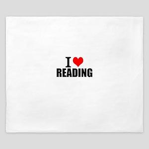 I Love Reading King Duvet