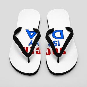 Soccer Is In My DNA Flip Flops