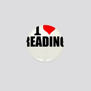 I Love Reading Mini Button