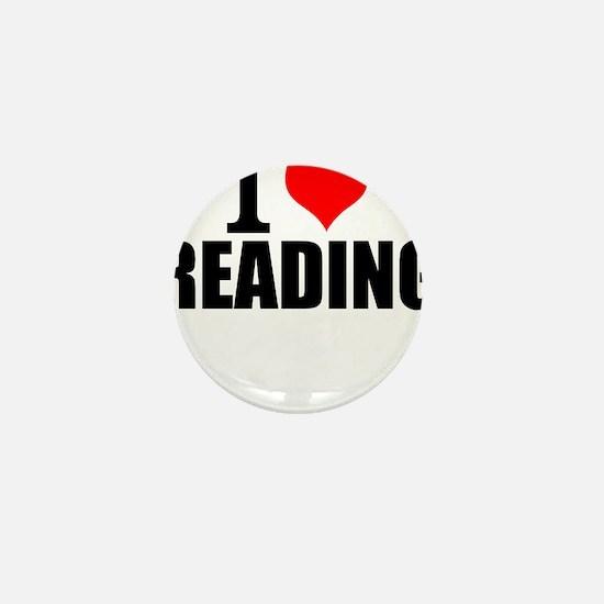 I Love Reading Mini Button