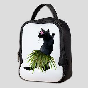 Hula Cat Neoprene Lunch Bag