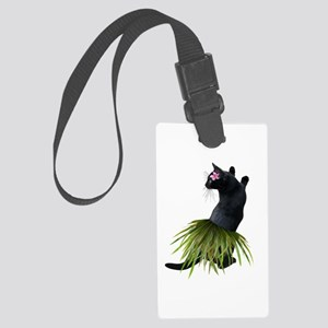 Hula Cat Luggage Tag