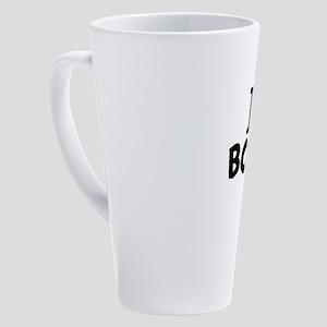 I Love Books 17 oz Latte Mug