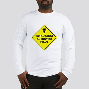 Autogyro Pilot Long Sleeve T-Shirt