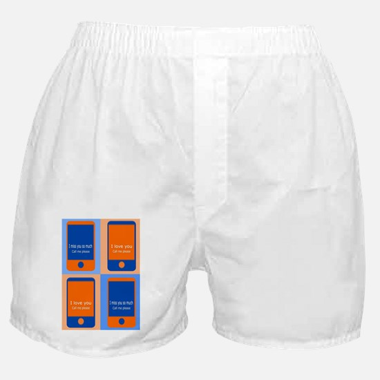 Cute Call me Boxer Shorts