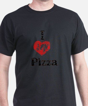 Vintage I Heart Pizza T-Shirt