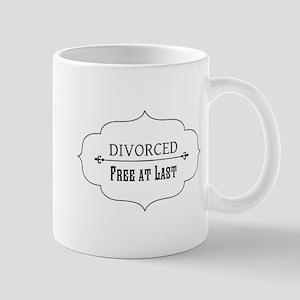 Divorce Free at Last Mugs