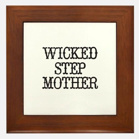 Wicked Step Mother Framed Tile