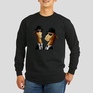Llama Brothers NO BG Long Sleeve T-Shirt