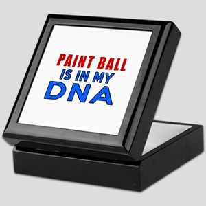 Paint Ball Is In My DNA Keepsake Box