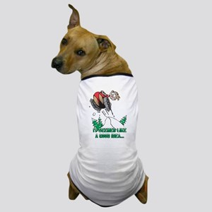 Funny Snowmobile Dog T-Shirt
