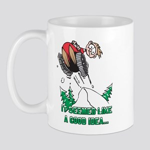 Funny Snowmobile Mug