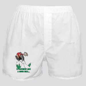 Funny Snowmobile Boxer Shorts