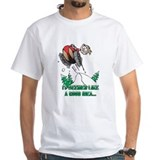 Snowmobile Mens Classic White T-Shirts
