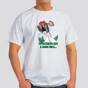 Funny Snowmobile Light T-Shirt