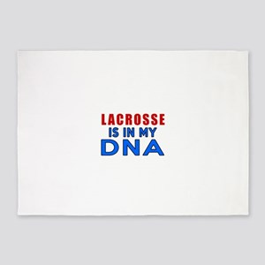 Lacrosse Is In My DNA 5'x7'Area Rug